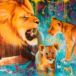 """LIONS """"Father and sons"""""""